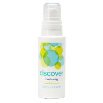 Lovehoney Discover Water-Based Anal Lubricant 100ml - Lovehoney
