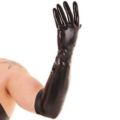 Renegade Rubber Long Latex Gloves - Renegade Rubber