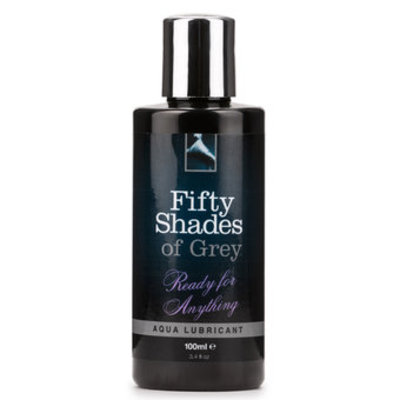 Fifty Shades of Grey Ready for Anything Aqua Lubricant 100ml - Fifty Shades of Grey