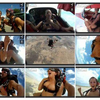 Skydive Sex Couple