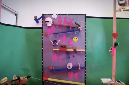 Awesome Rube Goldberg Machine Made with Sex Toys