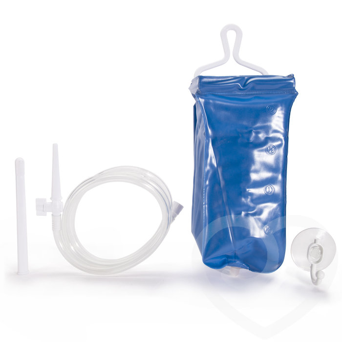 5-Piece Anal Enema Travel Kit 2 Litre - Seven Creations