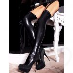 7heaven Wet Look Suspender Stockings - 7heaven