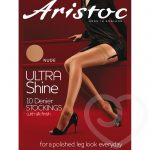 Aristoc Ultra Shine 10 Denier Nude Stockings - Aristoc