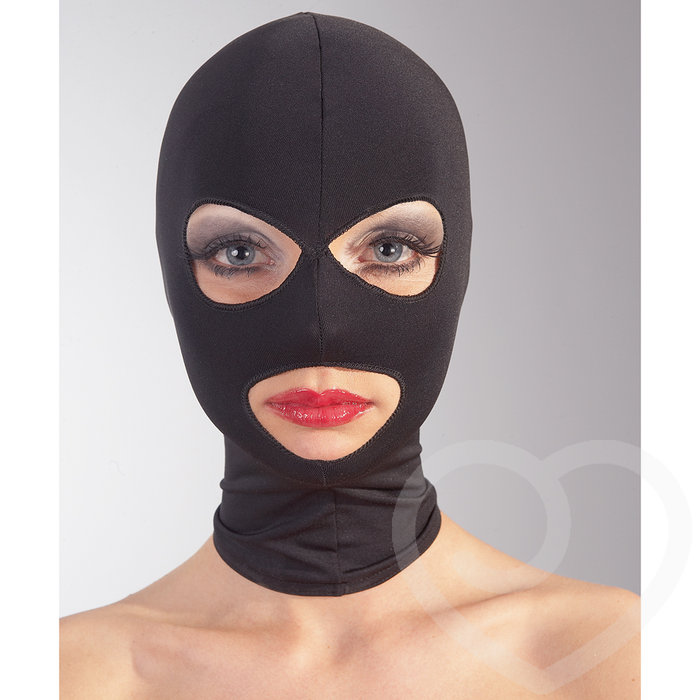 Bad Kitty Open Eye and Mouth Spandex Hood - Bad Kitty