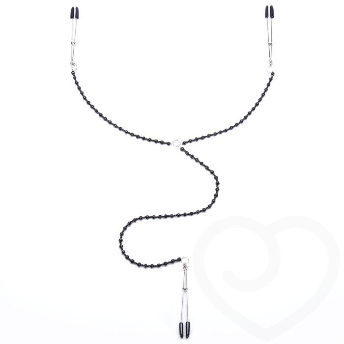Bondage Boutique Nipple Tweezer and Clit Clamp Body Jewellery - Bondage Boutique