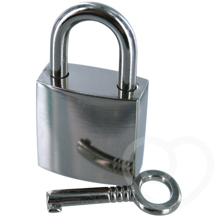 Bondage Boutique Padlock and Key - Bondage Boutique