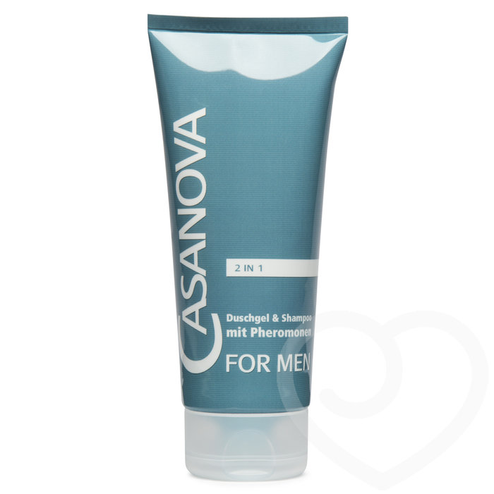 Casanova Pheromone Shower Gel and Shampoo for Men 200ml - Unbranded