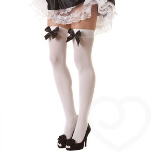 Classified Stockings with Satin Bow
