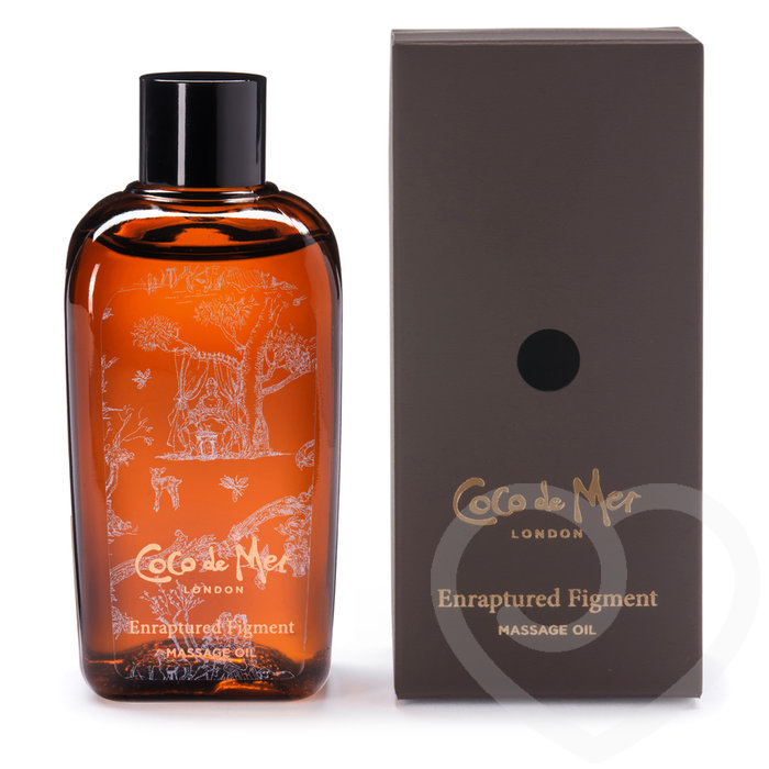 Coco de Mer Enraptured Figment Massage Oil 100ml - Coco de Mer