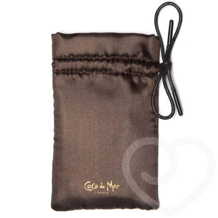 Coco de Mer Small Satin Toy Bag - Coco de Mer