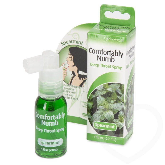 Comfortably Numb Spearmint Deep Throat Spray 29ml - Pipedream