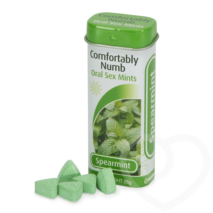 Comfortably Numb Spearmint Oral Sex Mints 25g - Pipedream