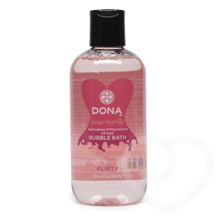 DONA Flirty Aphrodisiac & Pheromone Infused Bubble Bath 240ml - Unbranded
