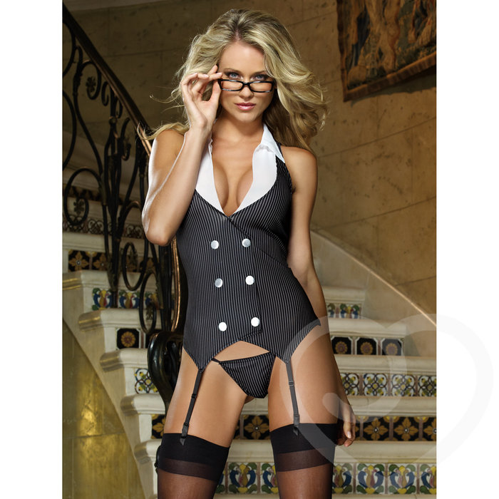 Dreamgirl Working Late Sexy Secretary Outfit - Dreamgirl Lingerie