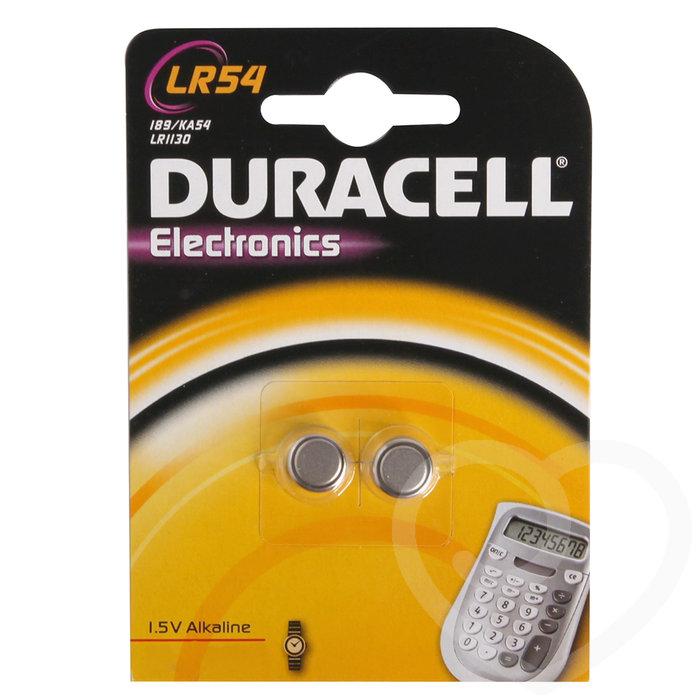 Duracell Alkaline LR54 Batteries (2 Pack) - Duracell