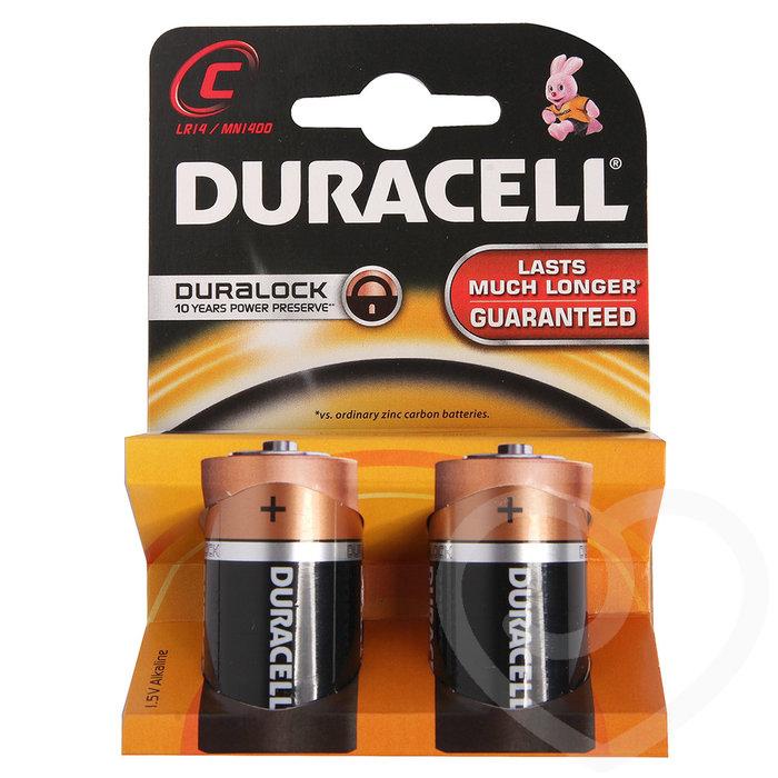 Duracell C Batteries (2 Pack) - Duracell