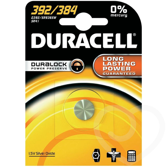 Duracell LR41 Battery Single - Duracell