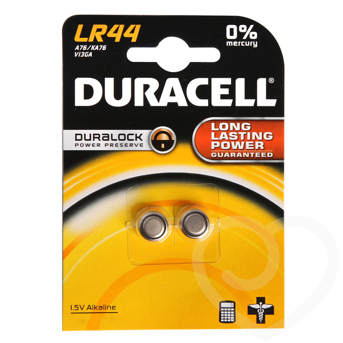 Duracell LR44 Batteries (2 Pack) - Duracell