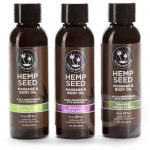 Earthly Body Hemp Seed Massage Oil Gift Set (3 x 60 ml) - Earthly Body