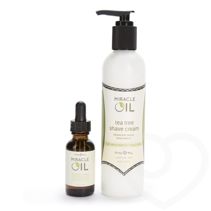 Earthly Body Miracle Oil & Shave Cream Combo - Earthly Body