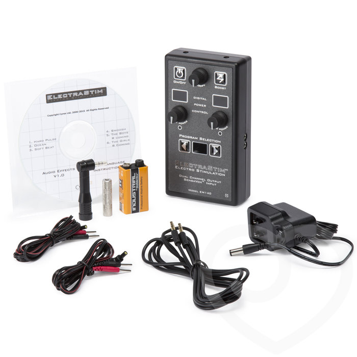 ElectraStim EM140 SensaVox Power Unit Dual Channel Electrosex Kit - ElectraStim