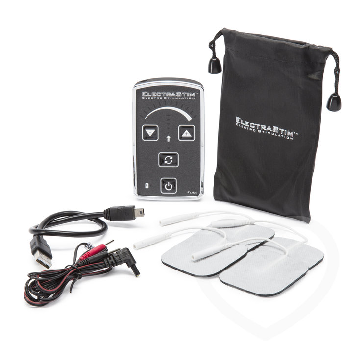 ElectraStim EM60-E Flick Single Output Stimulator and ElectraPads Set - ElectraStim