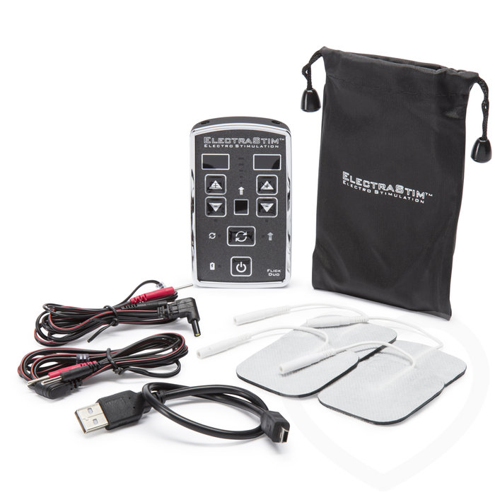 ElectraStim EM80-E Flick Duo Dual Channel Rechargeable Electro Sex Kit - ElectraStim