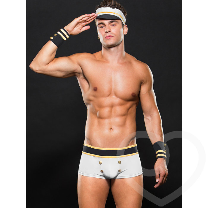 Envy Sailor Trunk, Hat and Cuffs Set - Envy