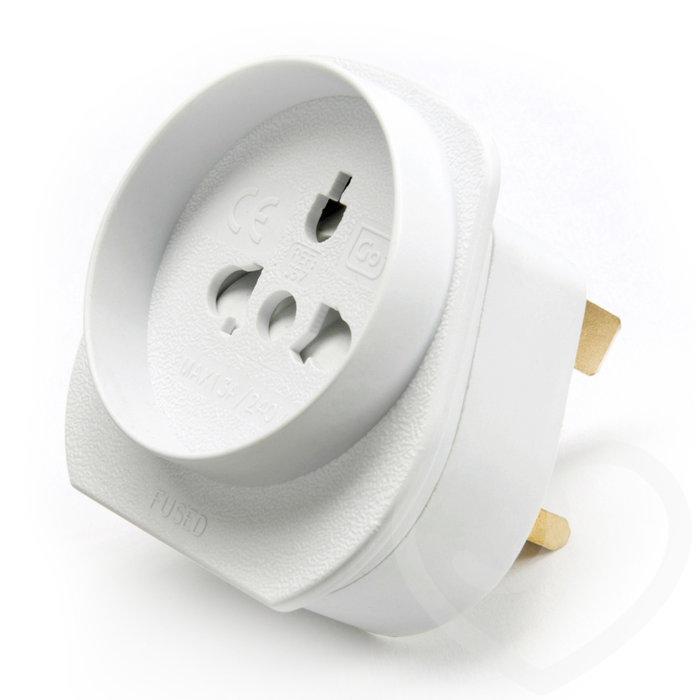 Europe to UK Power Adaptor - Unbranded