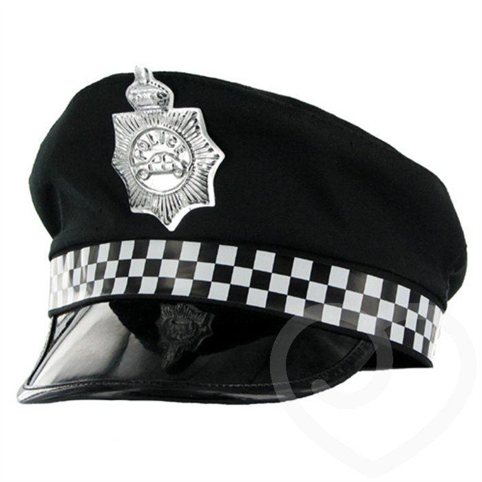 Fancy Dress Policewoman Hat - Unbranded