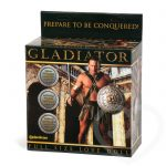 Gladiator Inflatable Male Sex Doll with 7 Inch Realistic Dildo 985g - Pipedream