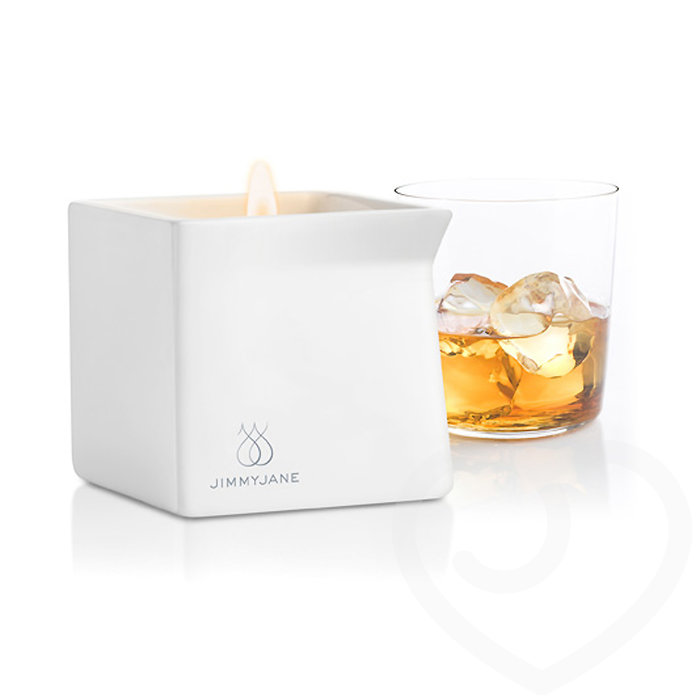 Jimmyjane Afterglow Massage Candle Bourbon 128g - Jimmyjane