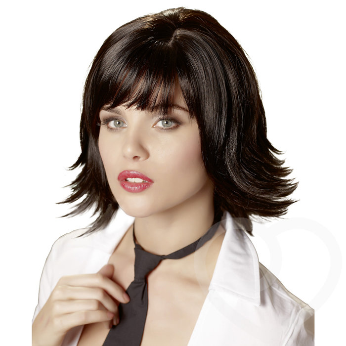 Joanne Fringed Layered Bob Wig - Unbranded