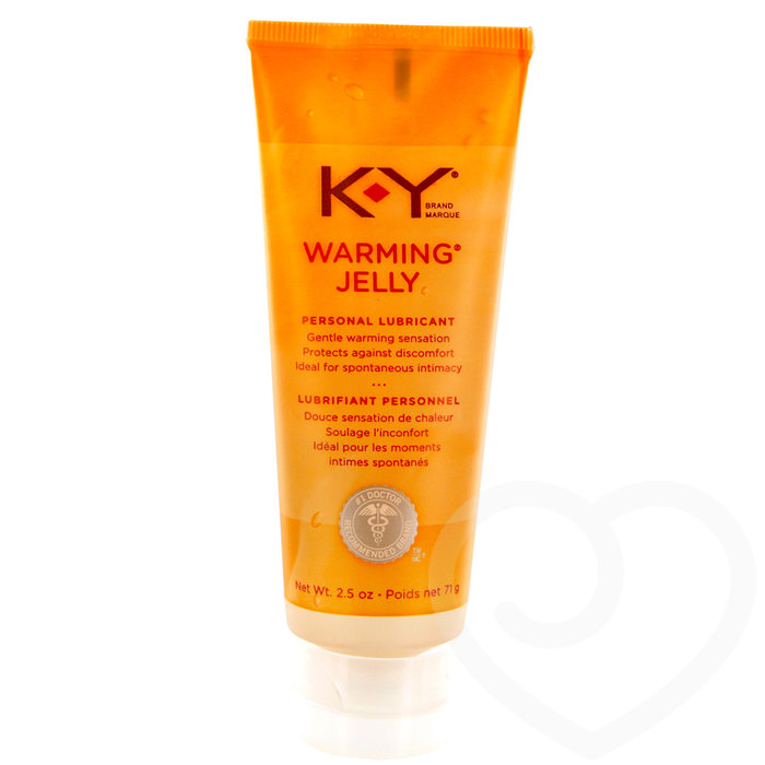 KY Warming Jelly Intimate Lubricant 71ml - KY Brand