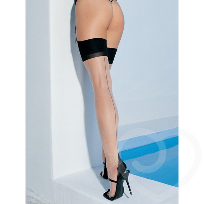 Leg Avenue Cuban Heel Stockings - Leg Avenue