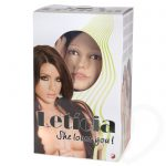 Leticia Realistic Vagina and Ass Vibrating Inflatable Sex Doll 2kg - Unbranded