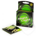Love Light Glow In The Dark Condoms (3 Pack) - Unbranded