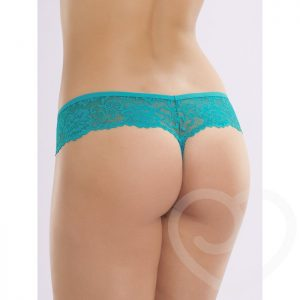 Lovehoney Flirty Teal Lace Thong