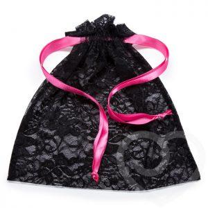 Lovehoney Lace Drawstring Lingerie Gift Bag