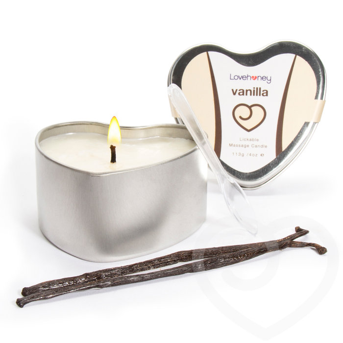 Lovehoney Oh! Vanilla Lickable Massage Candle 113g - Lovehoney Oh!