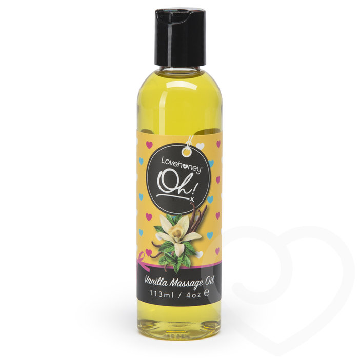 Lovehoney Oh! Vanilla Lickable Massage Oil 113ml - Lovehoney Oh!
