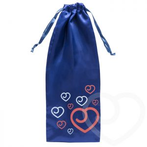 Lovehoney Satin Drawstring Toy Bag Blue