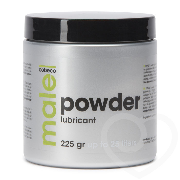 Male Cobeco Powder Lubricant 225g - Cobeco Pharma