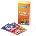 Pasante Mixed Flavoured Condoms (12 Pack) - Pasante
