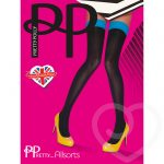 Pretty Polly Coloured Top Opaque Hold Up Stockings - Pretty Polly