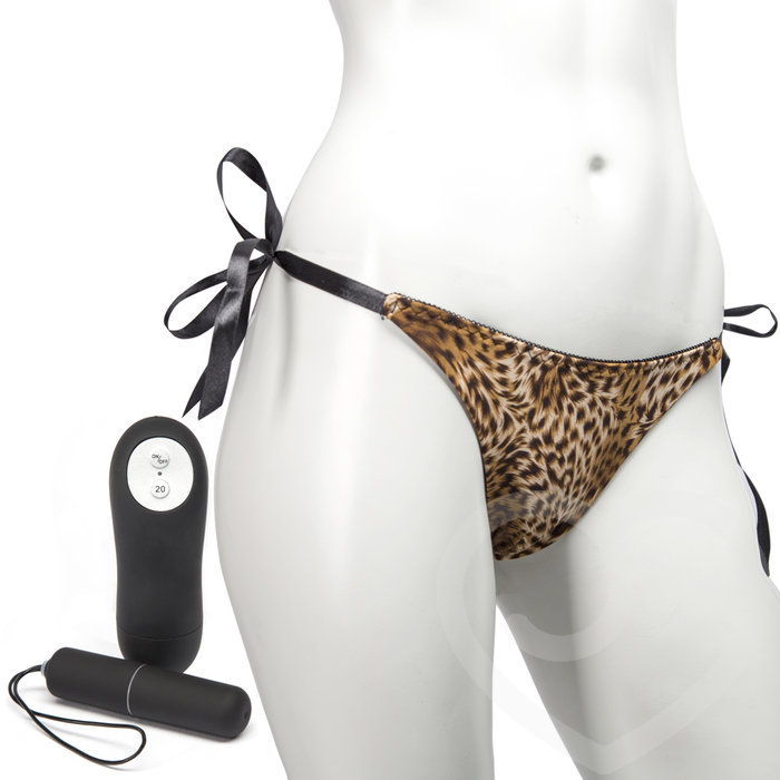 Remote Control 20 Function Bullet Vibrating Knickers - Unbranded
