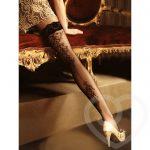 Roza Ballerina Genezis Baroque-Style Hold Up Stockings - Roza Lingerie