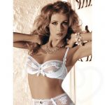 Roza Euterpe Lace Push Up Bra - Roza Lingerie