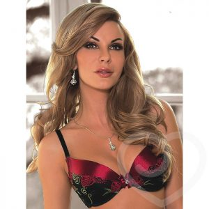 Roza Rufina Embroidered Padded Bra